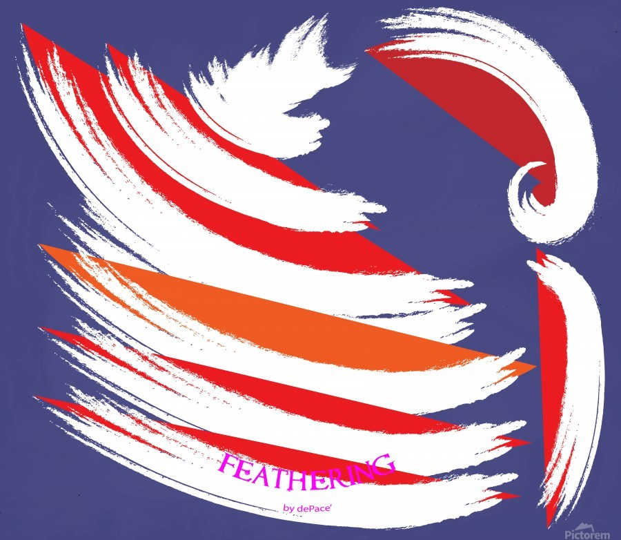 FEATHERING BY DEPACE  Print