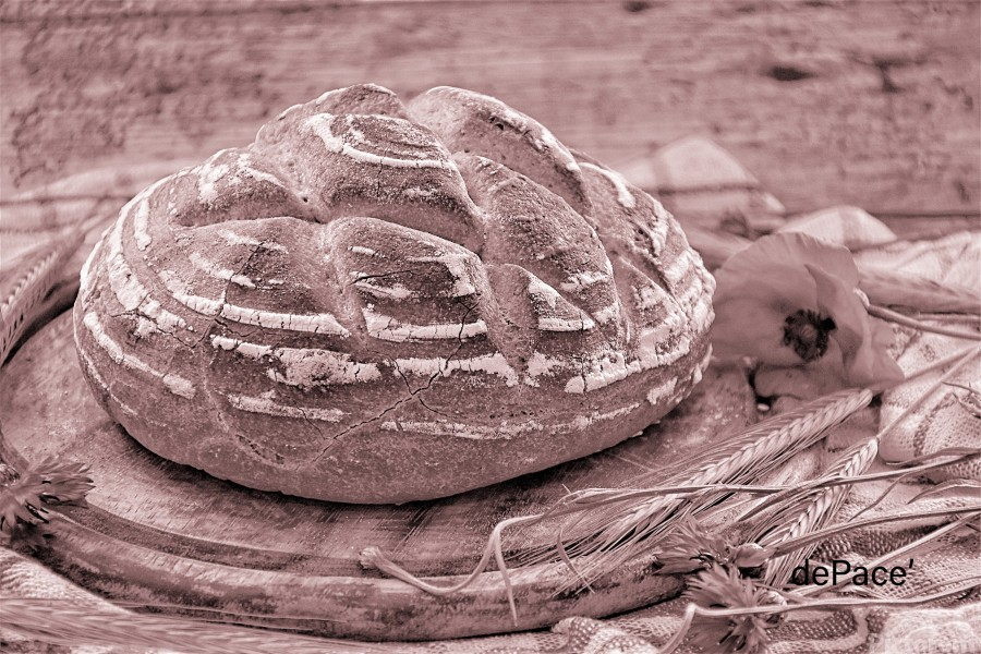 Rye Wheat Bread Home Made  Print