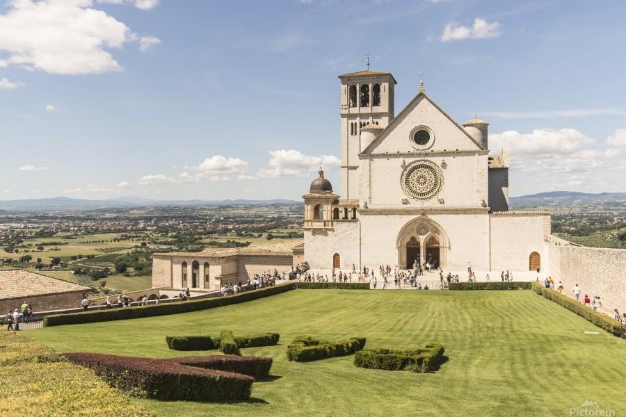 Assisi church  Print