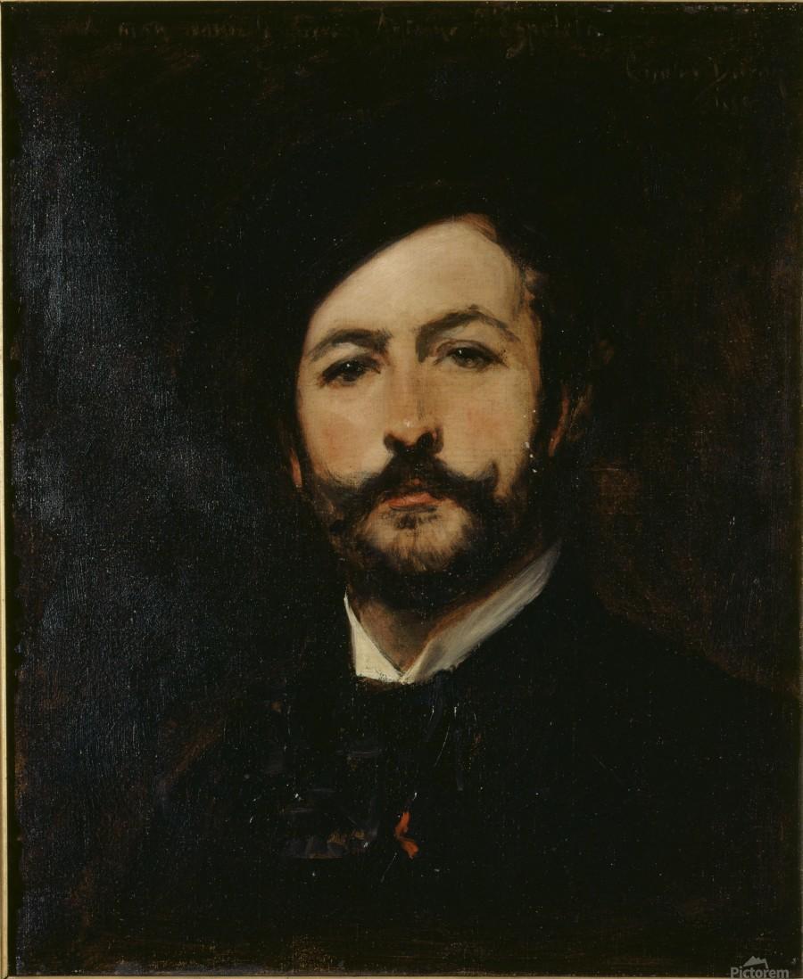Portrait du baron Antoine d Ezpeleta  Print