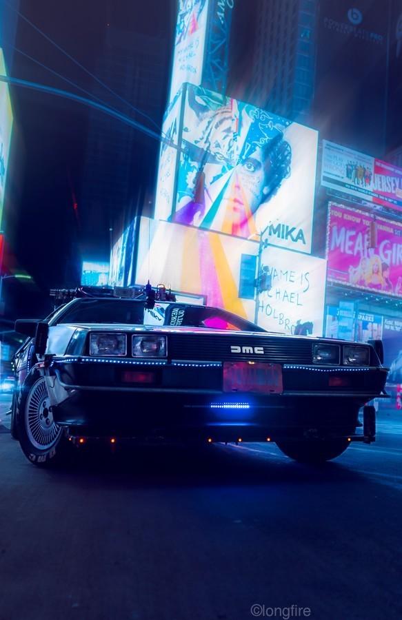 My DeLorean  Print