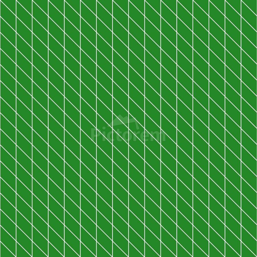 Green Checkers Pattern  Print