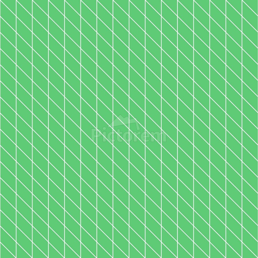 Green Color Checkers Pattern  Print