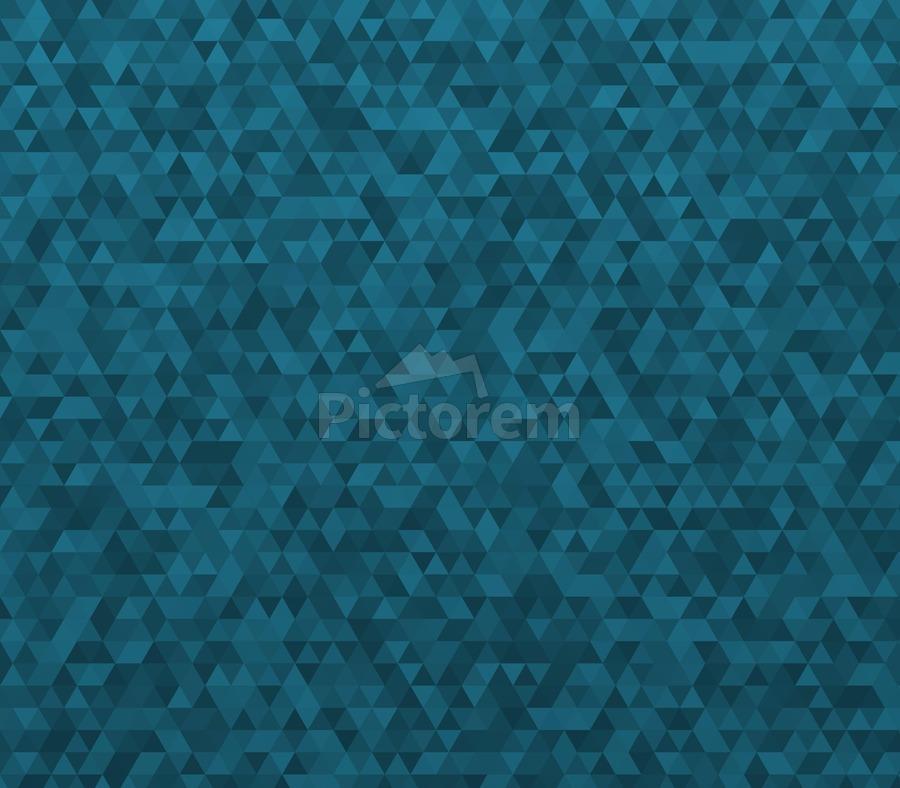 Dark Blue Glitter Pattern  Print