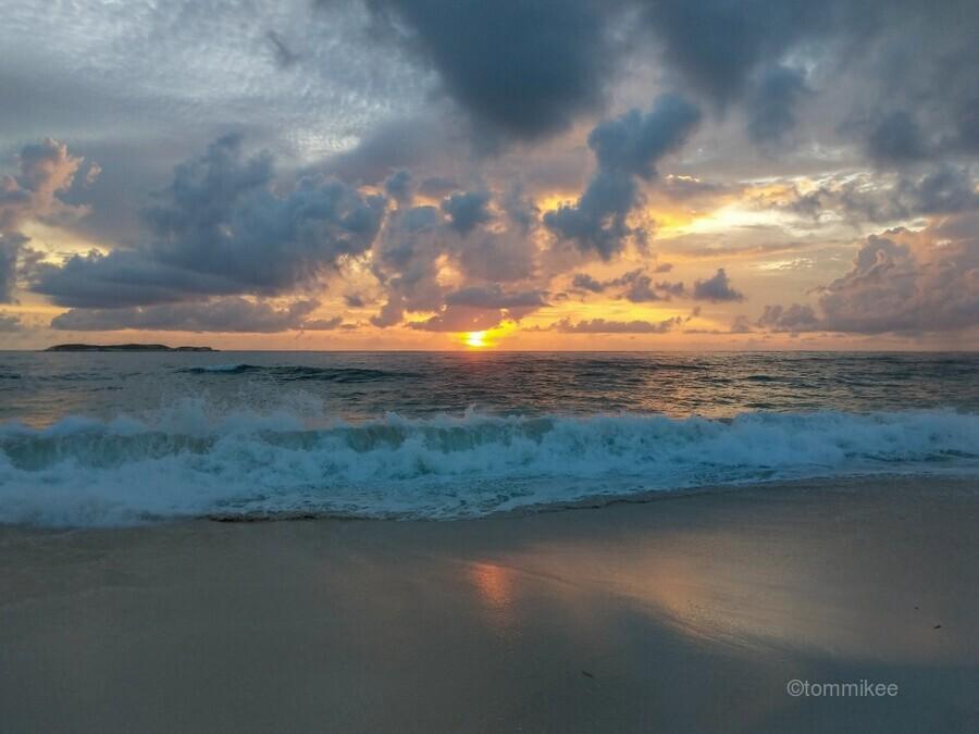 Eleuthera Morning on the beach  Print