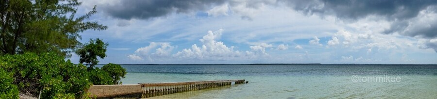 View of Georgetown from Starfish Point in Grand Cayman 2  Print