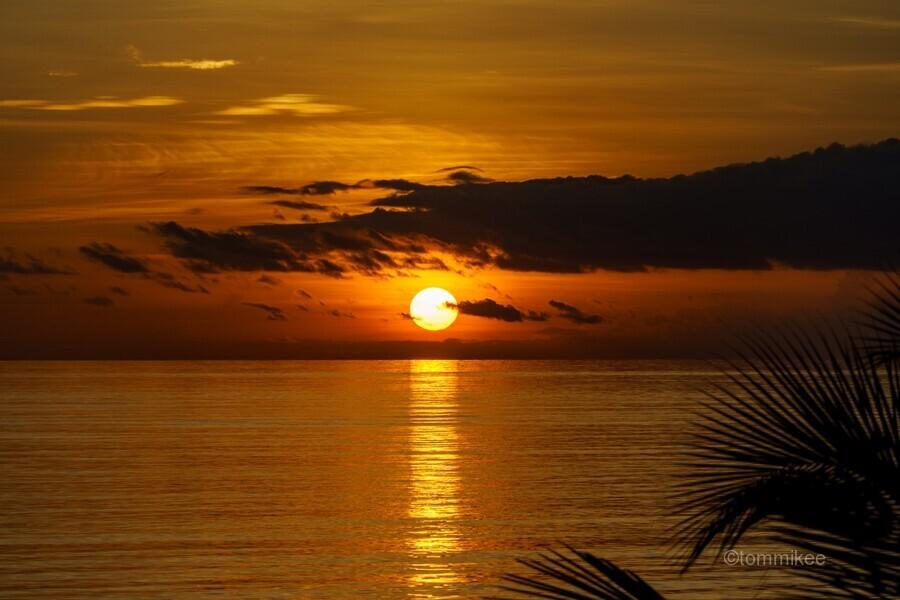 Sunrise at Cayman Kai  Print