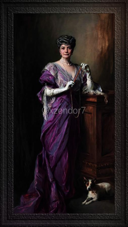 Lady White Todd by Philip de Laszlo Classical Fine Art Xzendor7 Old Masters Reproductions  Print