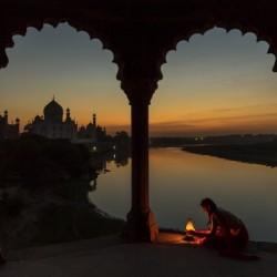 Illuminating the Taj