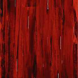 Rain, Abstract Painting In Red And Black (Acrylic Painting).