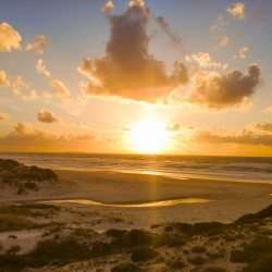 Atlantic Sunset over Praia Del Rey - Portugal