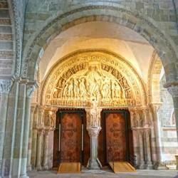Basilica of Sainte Marie Madeleine 3 of 5 @  Vezelay France