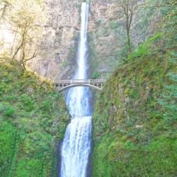 Falls in The Gorge 3 - Columbia River Oregon