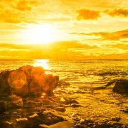 Majestic Sunset Panorama