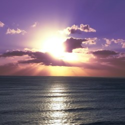 Tranquility - Relaxing Sunset over the Pacific
