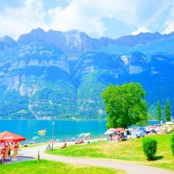 Snapshot in Time Walensee - Lake Walen Switzerland 1 of 3