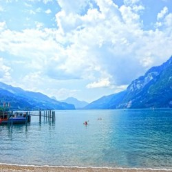 Snapshot in Time Walensee - Lake Walen Switzerland 2 of 3
