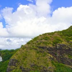 The Falls at the Mountain Overlook on Kauai