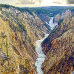 Mighty Yellowstone 5 - Grand Canyon of the Yellowstone River - Yellowstone National Park