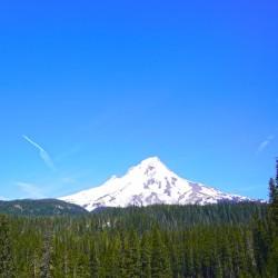 Mount Hood in Spring