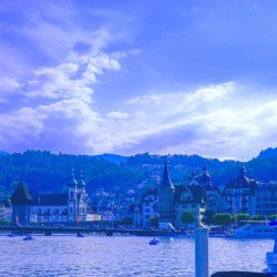 On the Shores of Lake Lucerne