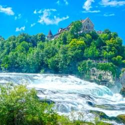 Perfect Day at Rhine Falls Switzerland