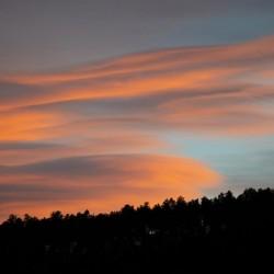 Backyard clouds
