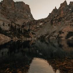 High altitude lakes