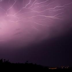 Lightning show