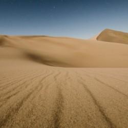 Stars over the dunes