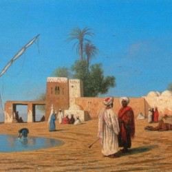A Village on the Shores of the Nile