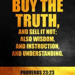 Proverbs 23:23 Bible Verse Wall Art
