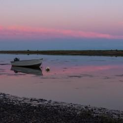 Une soire tranquille dans La Baie-des-Chaleurs