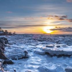 Winter contrast