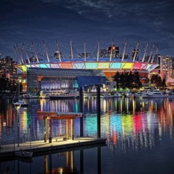 Colorful BC Place
