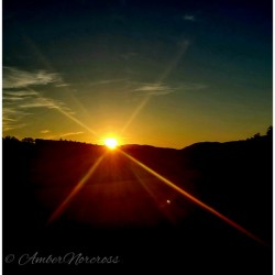 Glinting horizon