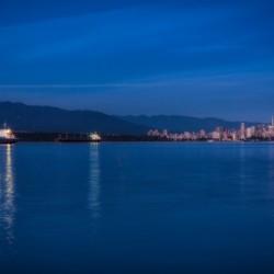 Shooting Star over Vancouver