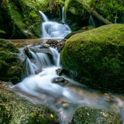 Small Waterfall in the German Black Forest