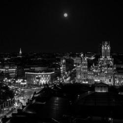 Night on Madrid