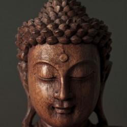 Buddha sculpture face