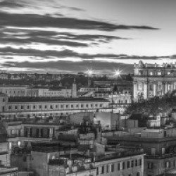 Vatican city with St. Peters Basilica, Rome, Italy