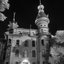 University of Tampa night scene