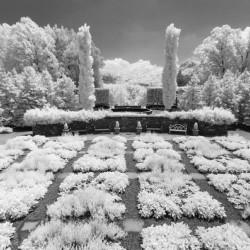Asheville Arboretum quilt garden