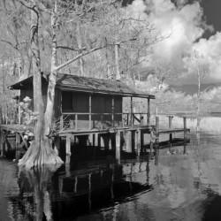 Fish Camp at Blue Cypress Lake Florida