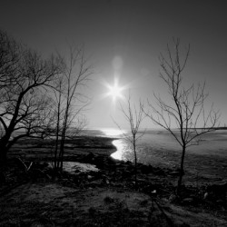 Lake Nipissing Black and White