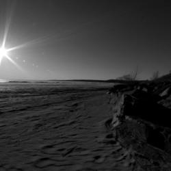 Lake Nipissing Black and White 2