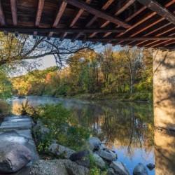 Grand River at Mechanicsville Ohio