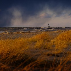 Conneaut Lighthouse Lake Erie
