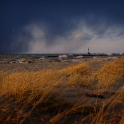 Conneaut Lighthouse Lake Erie Ohio