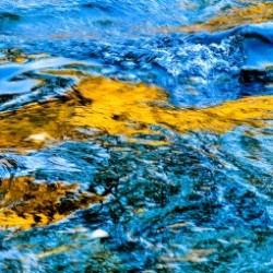 Flowing reflections 1